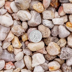 3/4 inch White Rock