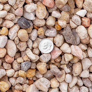 1/2 inch White Rock