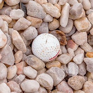 1-1/2 inch White Rock
